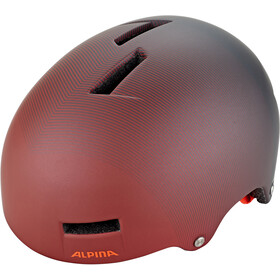 Alpina Airtime Casque, indigo-cherry-drop